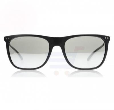 Giorgio Armani Wayfarer Matte Black Frame & Light Grey Mirror Silver Mirrored Sunglasses For Unisex - 0AR8048Q-50426G
