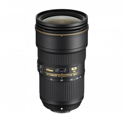 Nikon AF-S NIKKOR 24-70mm F2.8E ED VR Lens For DSLR Camera