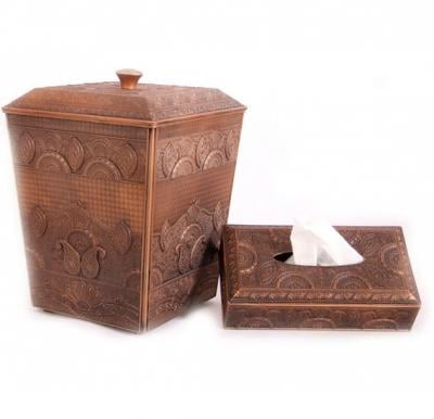 Tissue Box and Basket Set For Home and Kitchen, AKAT318