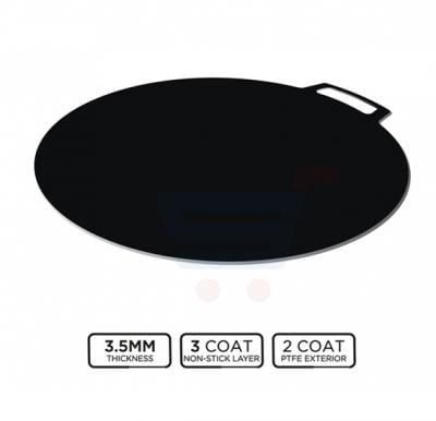 RoyalFord 40 CM High Performance Non Stick Flat Tawa - RF8448