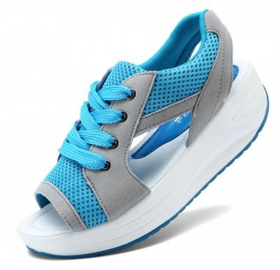 Generic Women Breathable Exercise Shoes,Sky Blue ,Size 36
