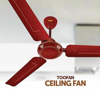 Toofan OSP12101 Ceiling Fan Brown