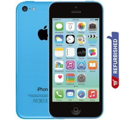 Apple iPhone 5C Blue 32GB Storage 4G LTE Refurbished