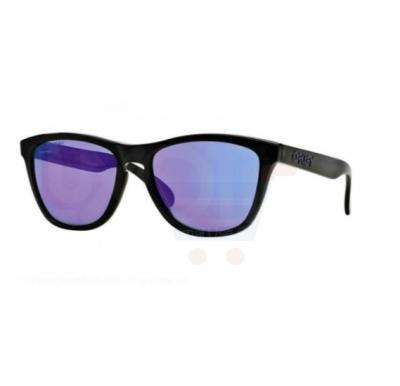 Oakley Wayfarer Fingerprint Dark Grey Frame & Warm Grey Mirrored Sunglasses For Unisex - 0OO9013-901356