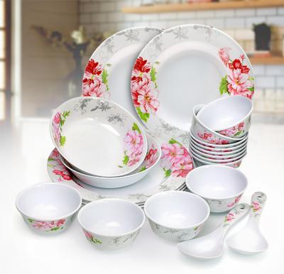 OSP Melamine Wares Dinner Sets,22 Pcs,Rmds 9722