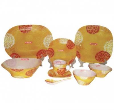 Flamingo Round Glass Dinner Set 45 PCS - FL8404GDS