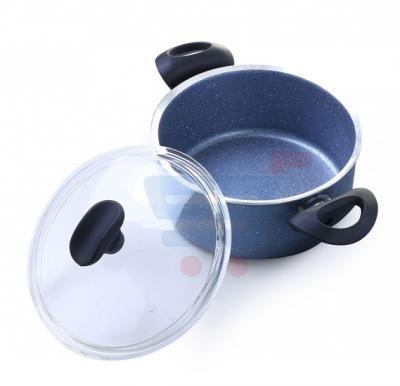 Royalford 28CM Cookware/GlassLid/Granitum - RF7197