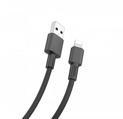 Hoco X29 Superior style charging data cable for Lightning , black