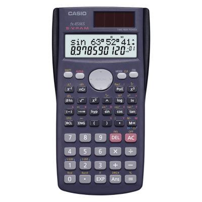 Casio FX-85MS Scientific Calculator 10+2 Digit 2-Line Display Ergonomic Design