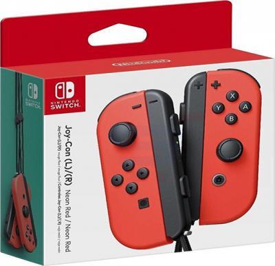 Nintendo Switch Joy Con Controller Pair Red