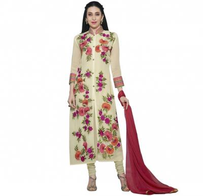 Fiona 20019 Georgette With Heavy Embroidery Suit
