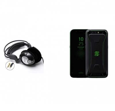 2 in 1 Bundle Offer Xiaomi Shark Mobile With Free Bass Head Phones