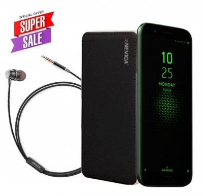 Xiaomi Black Shark 8GB 128GB 4G LTE Black Global version With Anker SoundBuds Mono And Nevica Powerbank 10,000 mAh