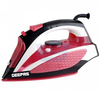 Geepas 2200W Ergonomic Design Dry & Steam Iron, GSI7781