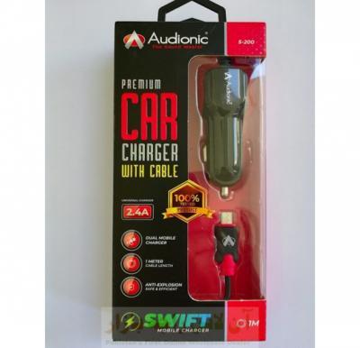 Audionic S-200  Premium Quality Car Charger