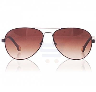 Carolina Herrera Aviator Havana Frame & Degraded Brown Mirrored Sunglasses For Women - SHE070V-0531