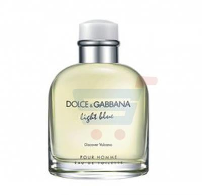Dolce & Gabana D&G Light Blue Discover Vulcano Men Edt 125 ml  Perfume