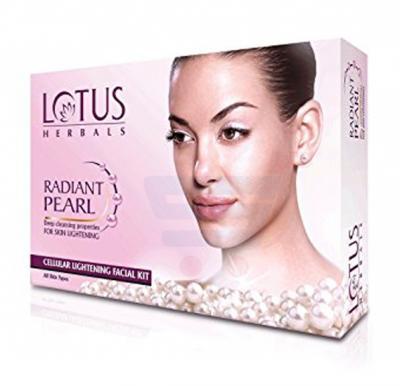 Lotus Radiant Pearl Cellular Lightening 1 Facial Kit