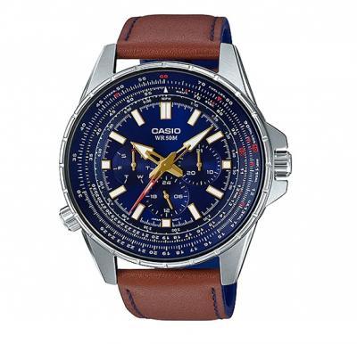 Casio MTP-SW320L-2AVDF Enticer Analog Blue Dial Men Watch