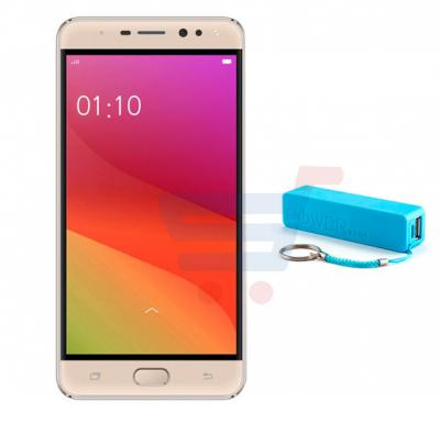 Lenosed M8 Smartphone,Android OS,5.5 Inch LCD Screen,3GB RAM,32GBStorage,Quad Core Processor,Dual SIM,Dual Camera,Bluetooth,WiFi. and Get Power Bank FREE! Gold