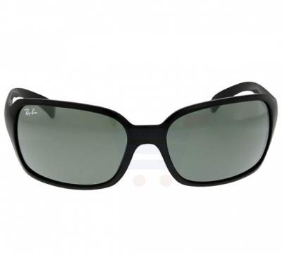 Ray-Ban Square Black Frame & Classic Green Mirrored Sunglasses For Unisex - RB4068-601-60