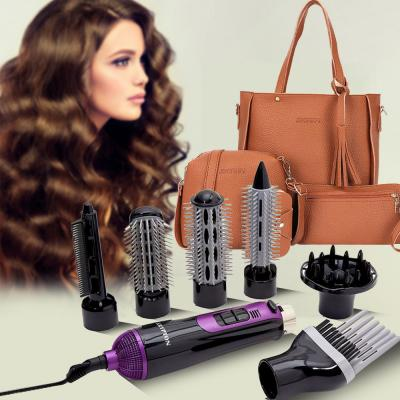 2 in 1 Fashion Pack Jingpin Korean Style Fashionable Tussel tote bag 4pcs Set and Krypton 7 in 1 Hair Styler Kit