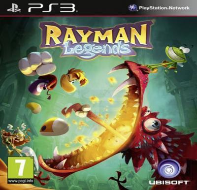 Ubisoft Rayman Legends For PS3
