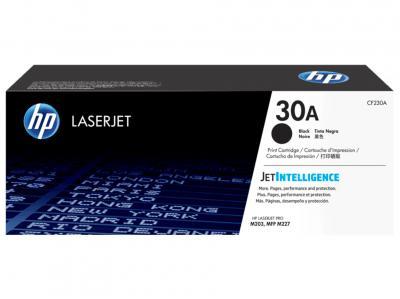 HP 30A Black Original LaserJet Toner Cartridge, CF230A