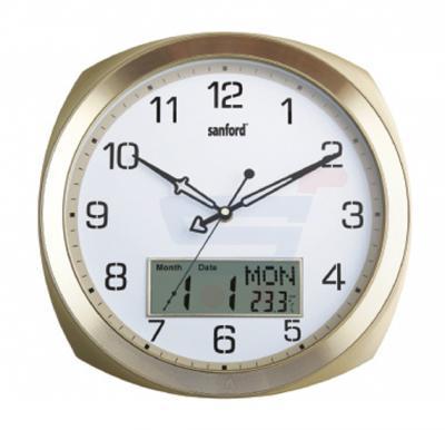 Sanford Analog and Digital Wall Clock - SF055WC