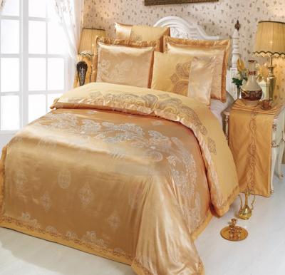 Senoures 100% Cotton Jacquard Quilt Cover 6Pcs Set King - SEJ-042