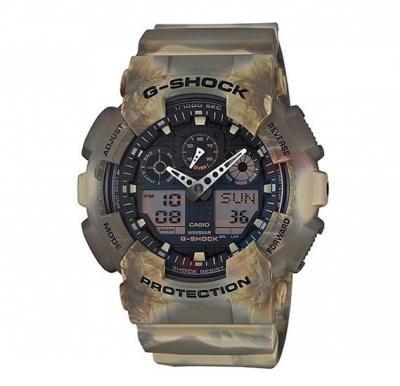 Casio G-Shock GA-100MM-5ADR Quartz Sports Watch For Men