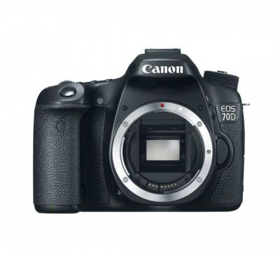 Canon EOS 70D DSLR Camera (Body Only)-Black