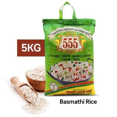 555 Basmathi Rice 5kg