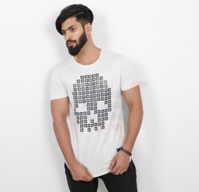 Saw Mens Tshirt White - SAW580 - M