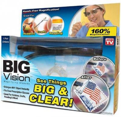 Big Vision Glasses, 0.2 Pound