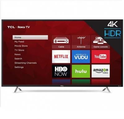 TCL 55 Inch Smart LED TV Black 55P2000