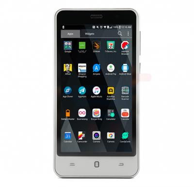 K-zone A6 3G Smartphone, 4.5 Inch Display, Android OS, 1GB RAM, 4GB Storage, Dual SIM, Dual Camera - Grey