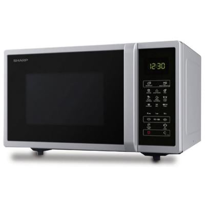 Sharp Microwave Oven 25Ltr, R-25CTS, Silver