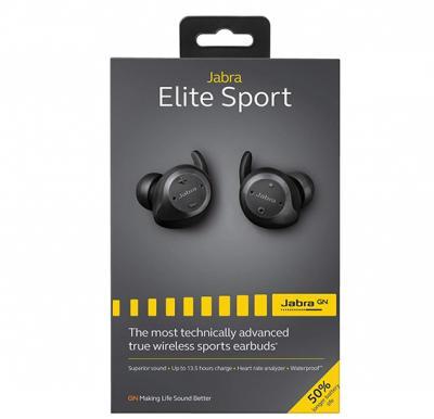 Jabra Elite Wireless Bluetooth Earbuds - Black