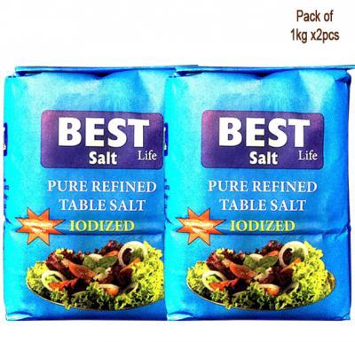 Best Salt 1kg x 2 PCS