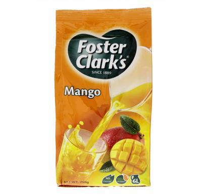 Foster Clark Mango Drink Refill Bag 750gm