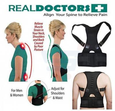 T&F Real Doctor Plus Align Your Spine to Relieve Pain For Men and Women - M
