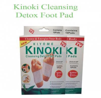 kinoki Cleansing Detox Foot Pads, 10 boxes