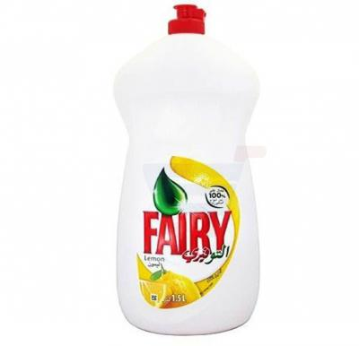 Fairy Lemon Dishwashing Liquid Soap 1.5L