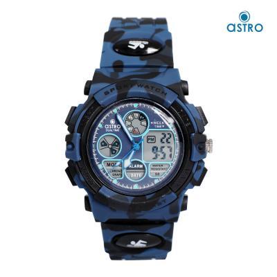 Astro Kids Analog-Digital Blue Dial Watch A21806-PPNN, Size 42