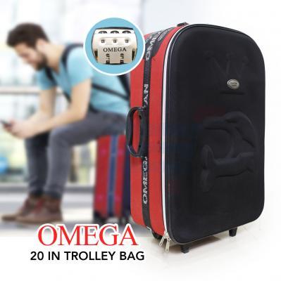 Omega 20 inch Trolley Black