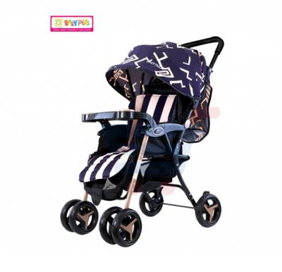 Baby Plus Stroller 7200, Blue Print