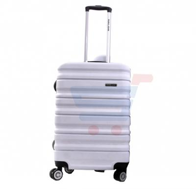 Para John 24 Inch Trolley Luggage, White- PJTR3079
