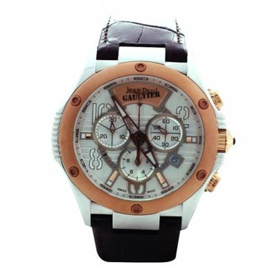 Jean Paul Gaultier Swiss Made  Men Brown Watch - JPG0104003