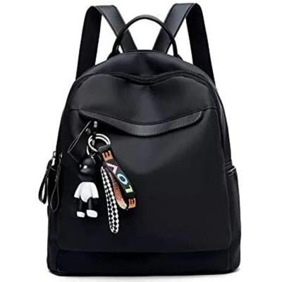 Black with Love Keychain Backpack